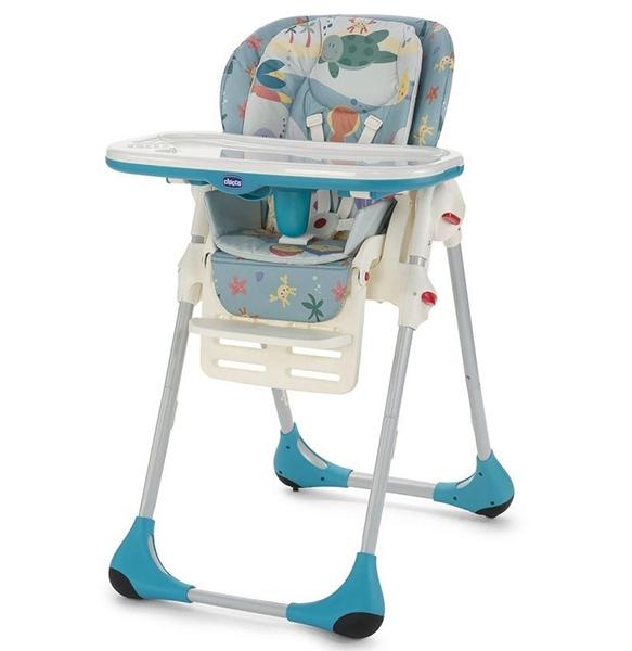 Chicco Barošanas krēsls Polly High 2in1 Sea dreams (Art. 79065.80)