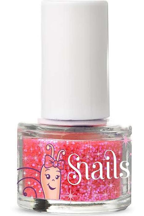 Snails Snails Mini Pink glitter Art