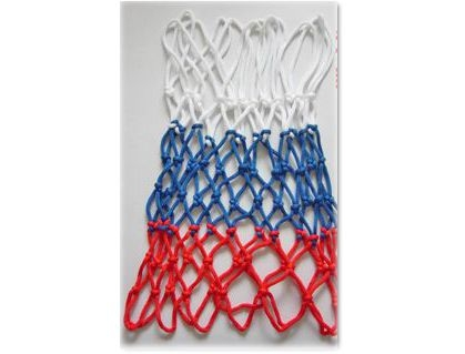 Basketbola tīkls 339-08043 Basketball Net 5mm 2pcs 3-Color  8.00